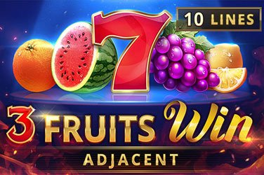 3 Fruits Win: 10 Lines Playson Spielautomat