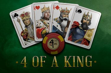 4 of a King Endorphina Spielautomat