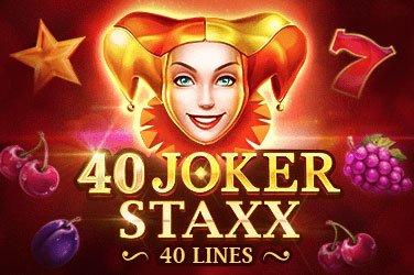 40 Joker Staxx: 40 Lines Playson Spielautomat