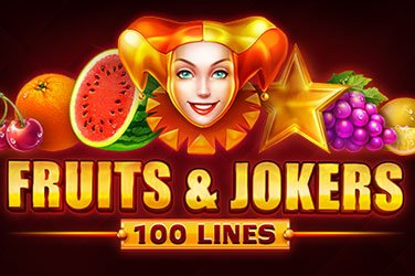 Fruits & Jokers: 100 Lines  Spielautomat
