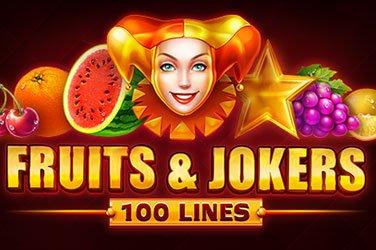 Fruits & Jokers: 100 Lines  Spielautomat