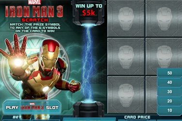 Iron Man 3 Scratch Playtech Spielautomat