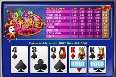 Joker Poker Mh Play n GO Spielautomat