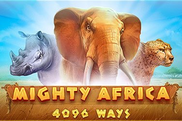 Mighty Africa: 4096 Ways  Spielautomat