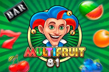 Multifruit 81 Play n GO Spielautomat