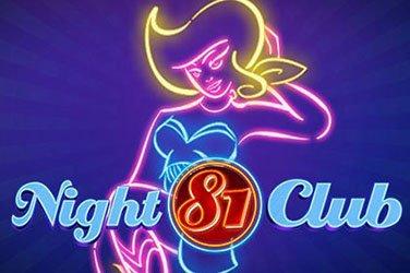 Night Club 81 Wazdan Spielautomat