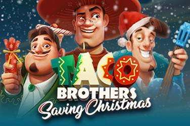 Taco Brothers Saving Christmas ELK Studios Spielautomat
