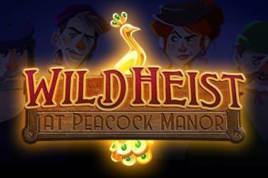 Wild Heist at Peacock Manor Thunderkick Spielautomat