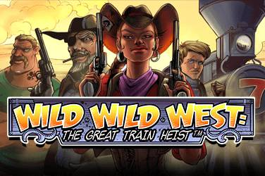Wild Wild West: the Great Train Heist NetEnt Spielautomat