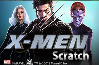 X-men Scratch Playtech Spielautomat